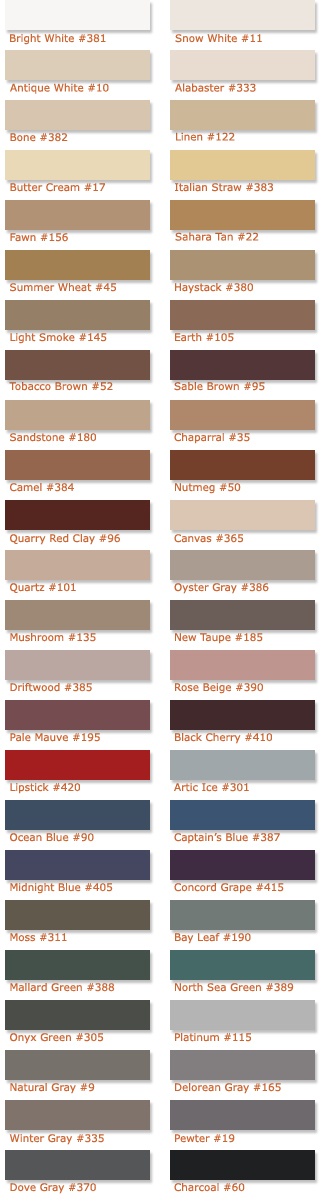 Grout Color Chart Got Ugly Grout