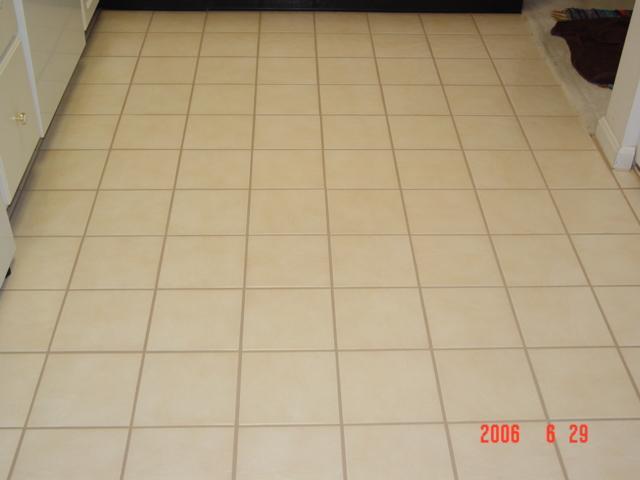 Kitchen Floor Tile Samples Finished Floor Broken Tiles